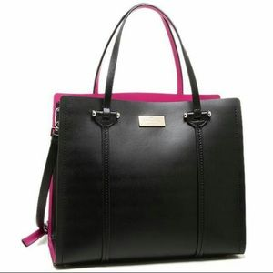 """Kate Spade """"Arbour Hill Small Elodie"""" Leather Bag"""